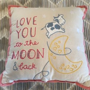 Primitives By Kathy Baby Pillow Love You To Moon